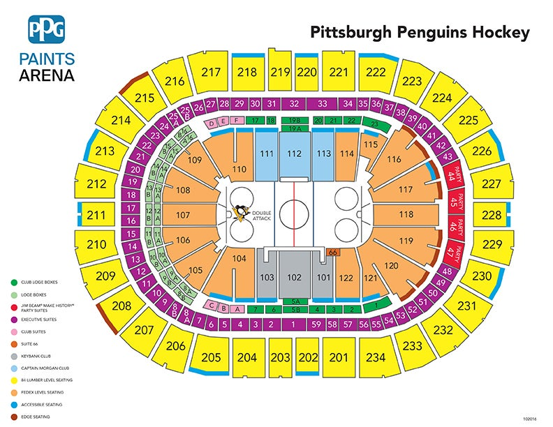 Pittsburgh penguins vs st louis blues ppg paints arena