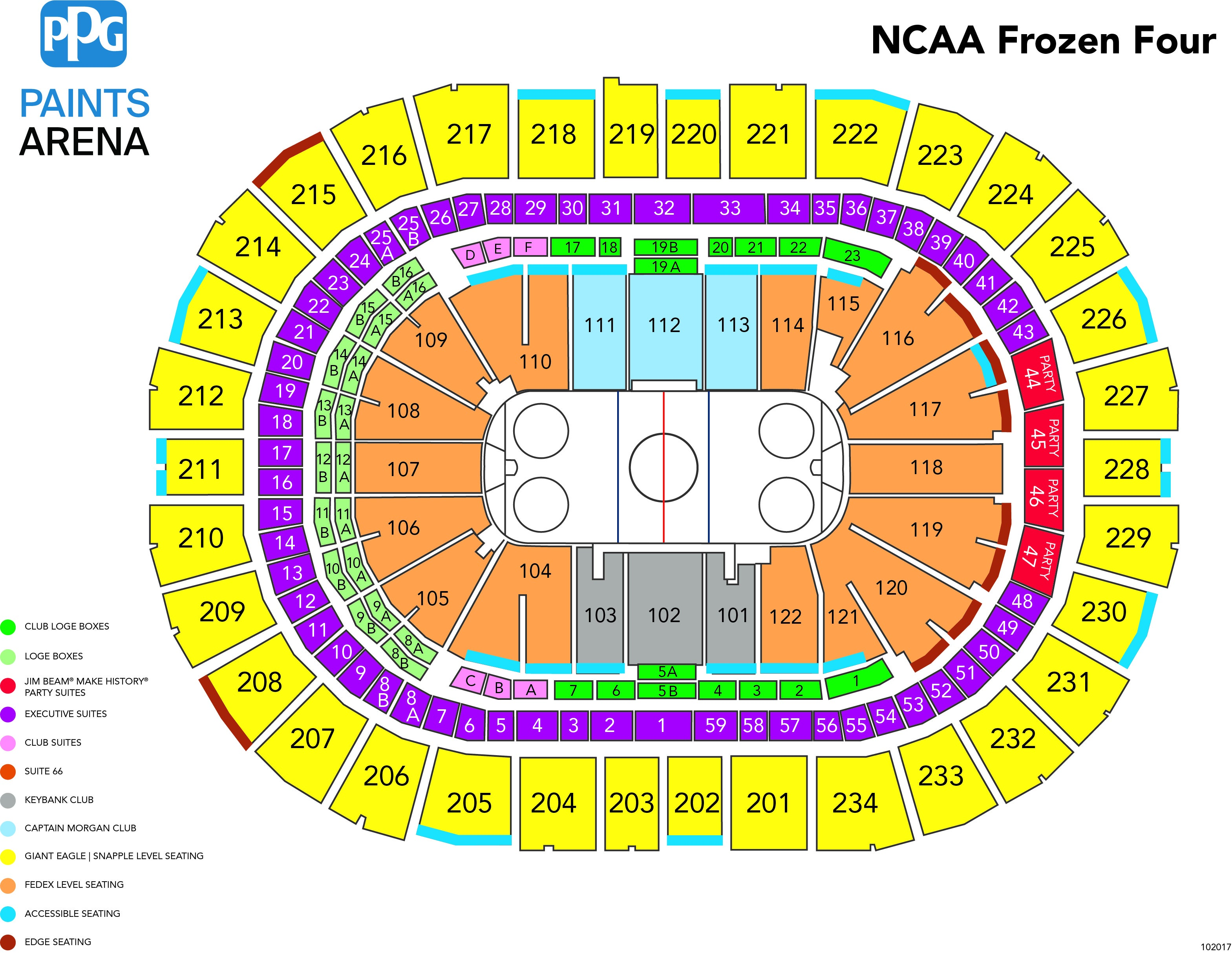 Pitt Vs Duquesne Club Hockey Ppg Paints Arena