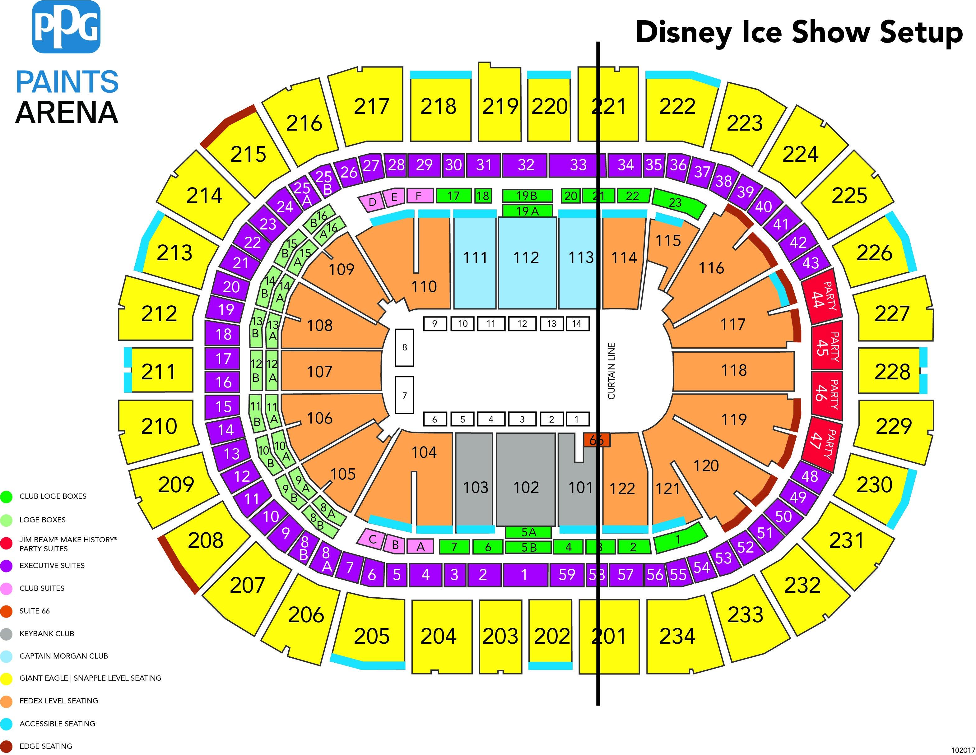 Cirque Du Soleil Crystal Ppg Paints Arena