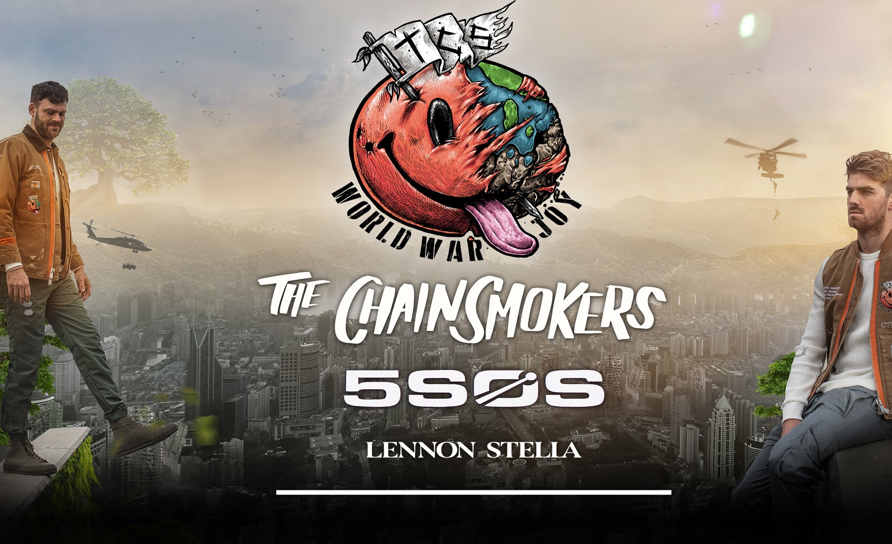 More Info for THE CHAINSMOKERS