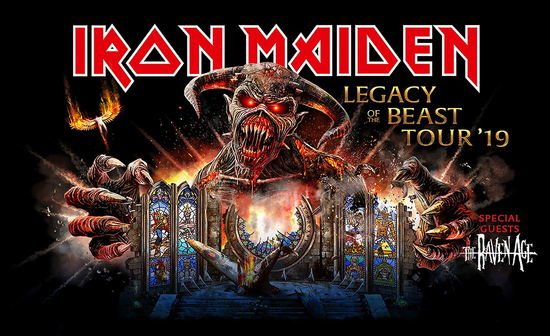 Iron Maiden | PPG Paints Arena