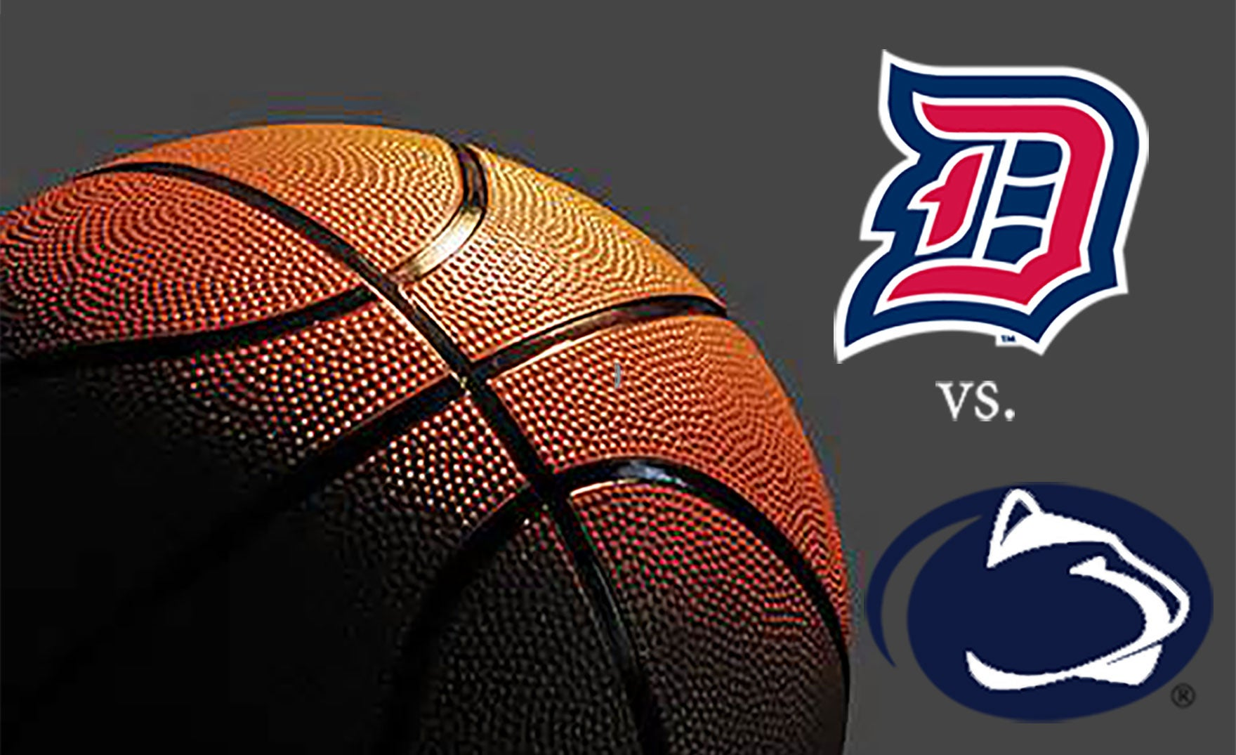 Duquesne University vs Penn State University Men's Basketball