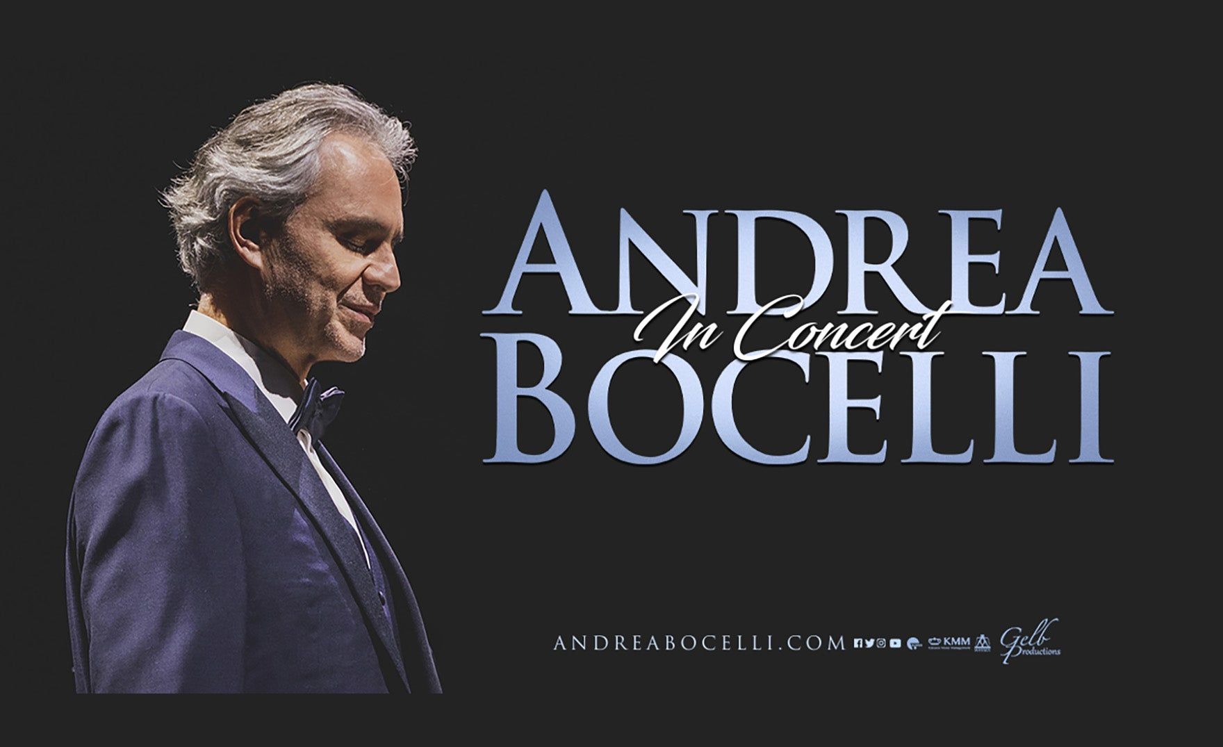 Andrea Bocelli - Rescheduled to 12-4-2021