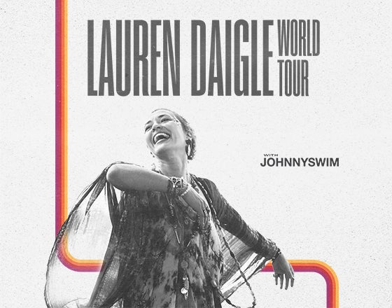 More Info for Lauren Daigle - Rescheduled for April 22, 2021
