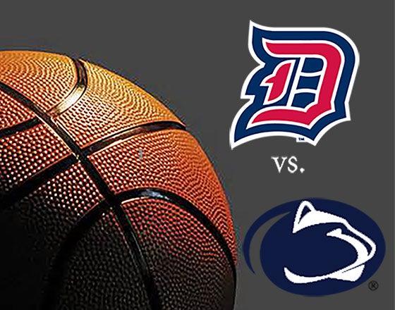 More Info for Duquesne University vs Penn State University Men's Basketball