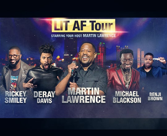More Info for Martin Lawrence: The LIT AF Tour